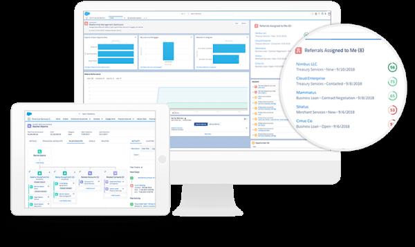 Salesforce Financial Service Cloud Services